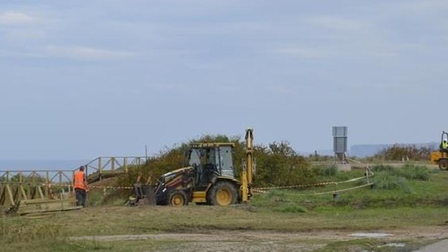 Casares planteará un nuevo proyecto de la senda costera