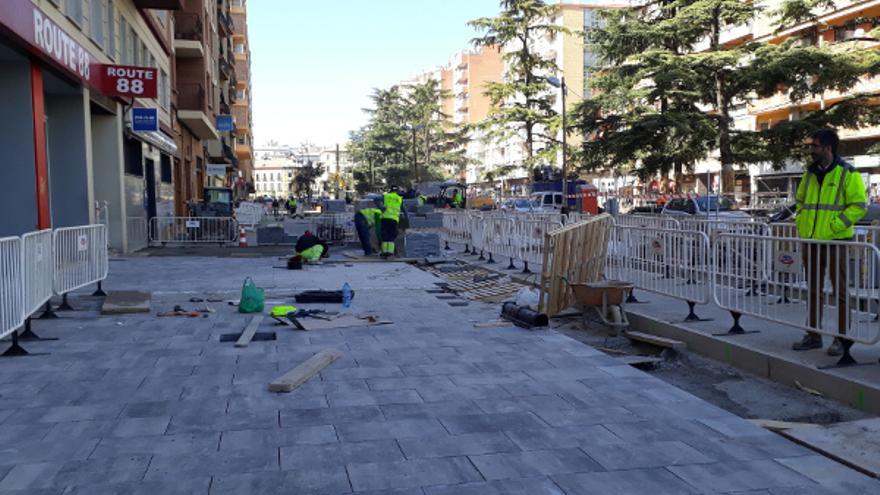 Se dedicarán 900.000 euros a la segunda fase de las obras del paseo Ramón y Cajal
