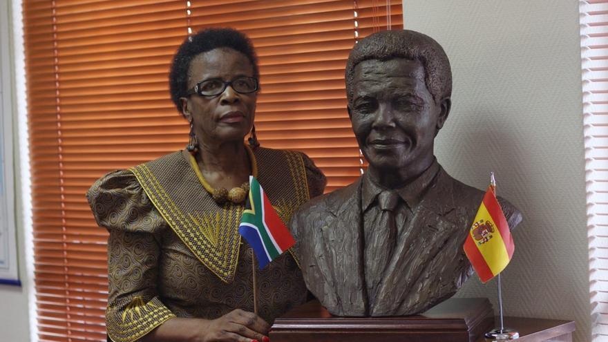 Thenjiwe Mtintso, activista y embajadora de Sudáfrica en España.