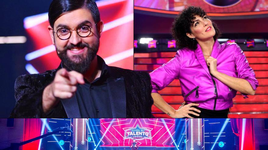 Manu Sánchez y Rocío Madrid presentarán 'Tierra de talento' en Nochevieja