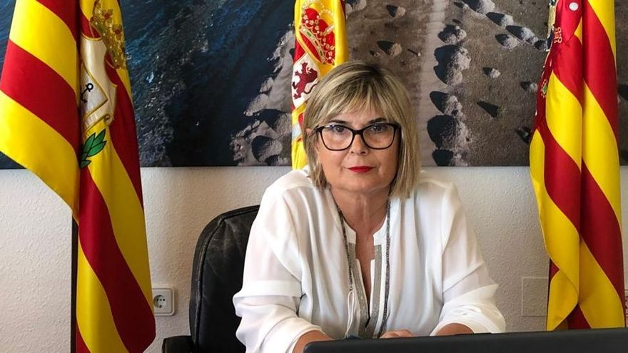 Loreto Serrano, alcaldesa de Santa Pola.