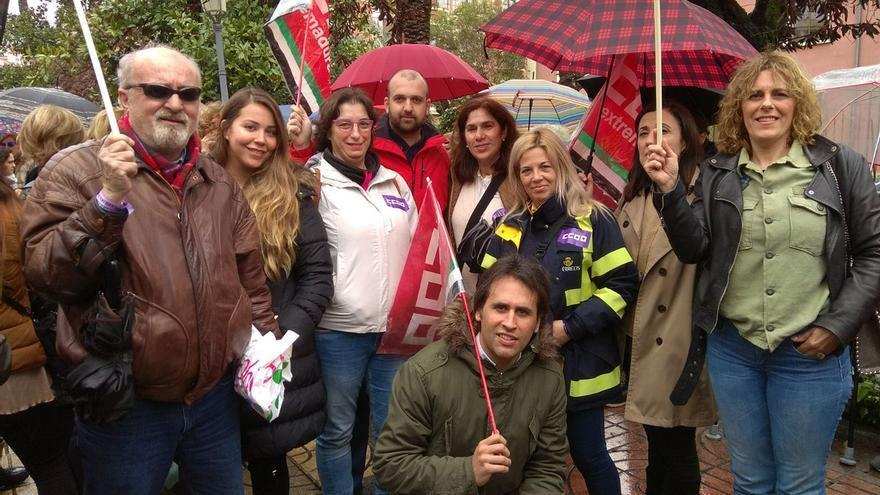 Huelga Correos Badajoz