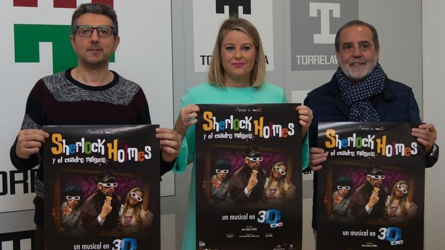 El musical en 3D 'Sherlock Holmes y el cuadro mágico' se representará el 4 de enero en el Concha Espina