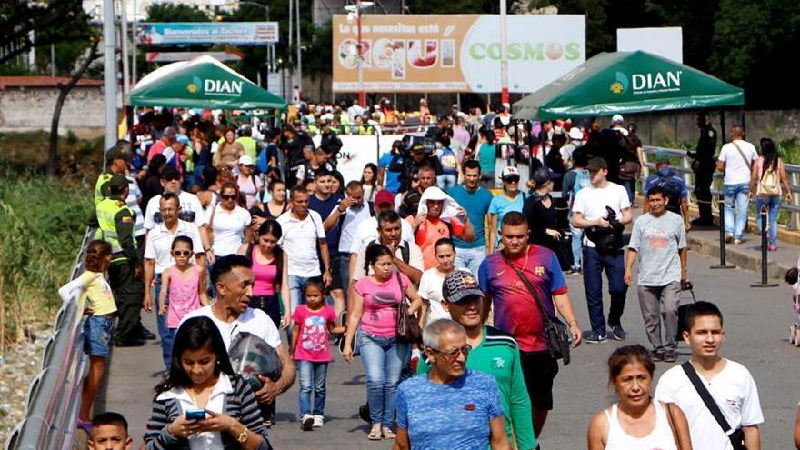Normalidad en el paso fronterizo colombo-venezolano antes de la Constituyente