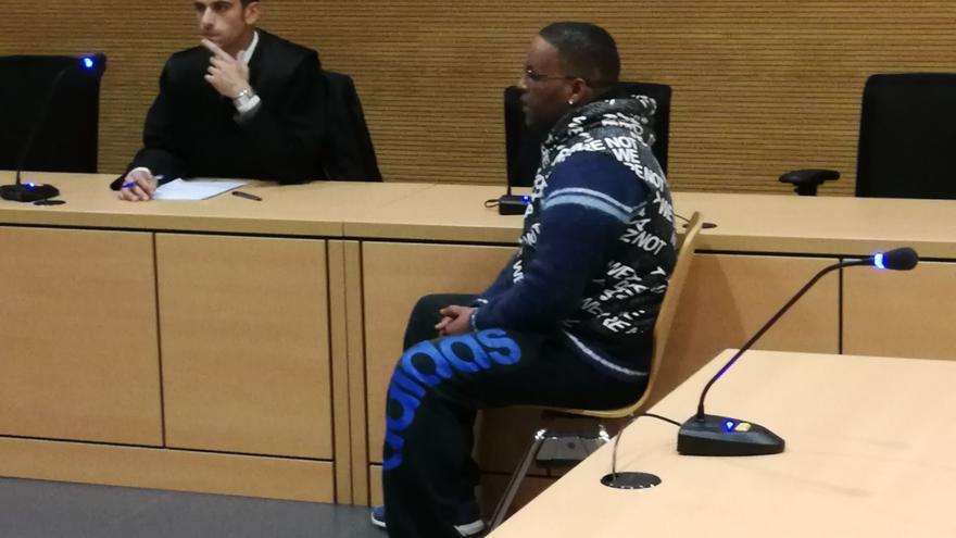 Yassin O. durante la lectura del veredicto