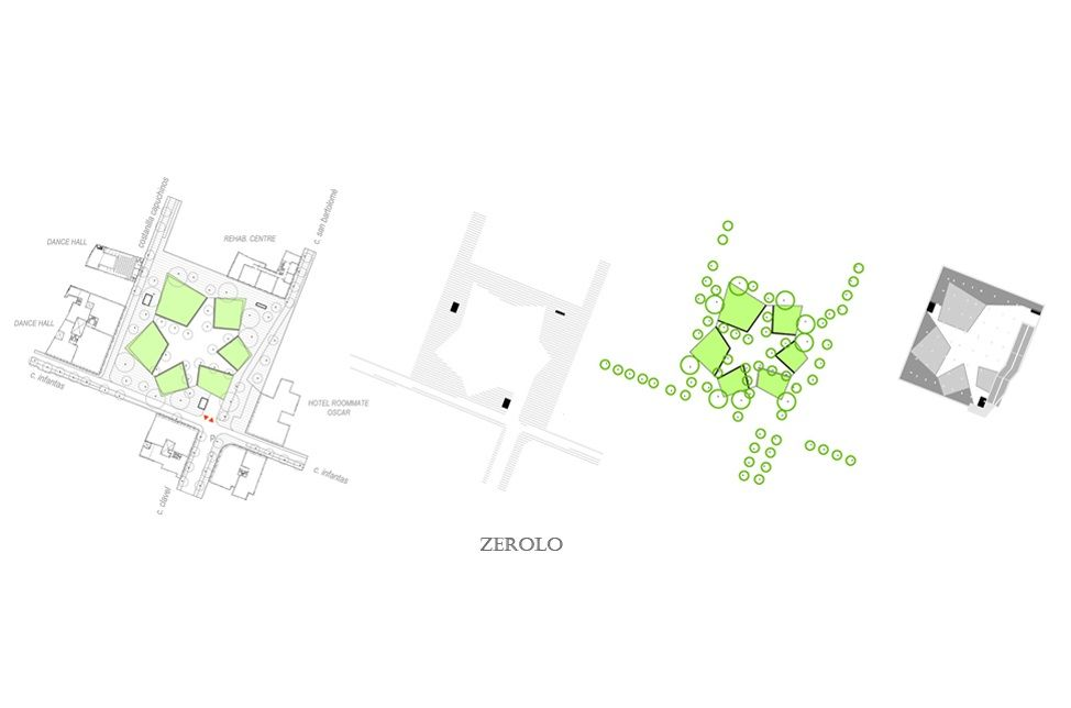 "Proyecto ""On The Blue Summer Evenings"" para la Plaza de Pedro Zerolo 