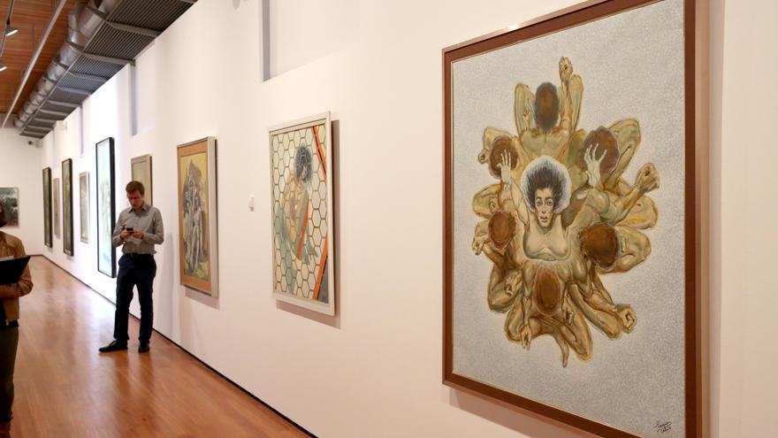 Presentación en San Martín de dos nuevas exposiciones sobre arte, arquitectura y urbanismo en Canarias