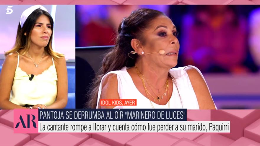 Isa Pantoja valoró el debut de su madre en 'Idol Kids'