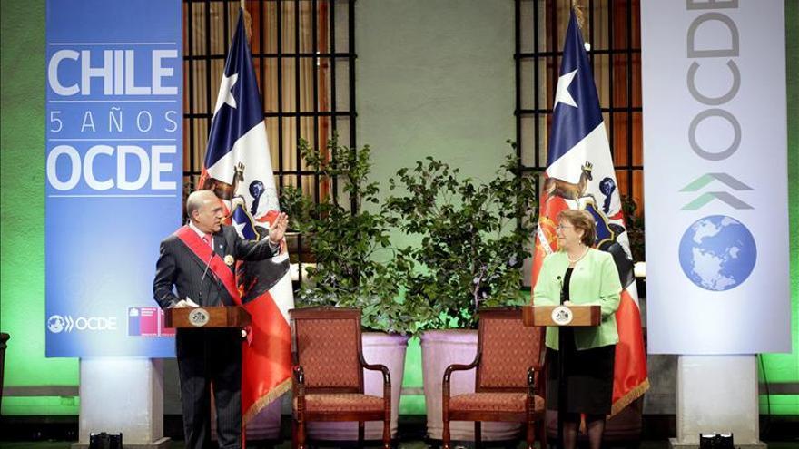 Bachelet presidirá la cumbre de la OCDE de 2016 en París