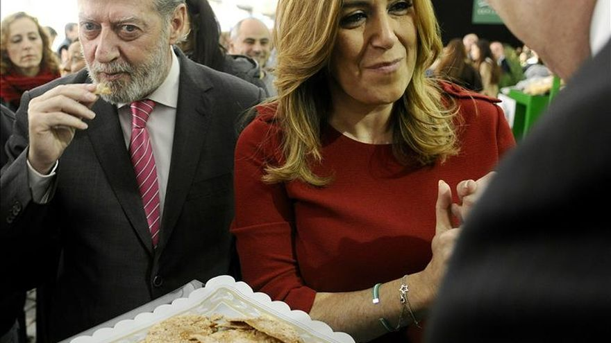 """Susana Díaz asegura que """"tiene ilusión y fuerza para lograr un gobierno estable y fuerte"""""""