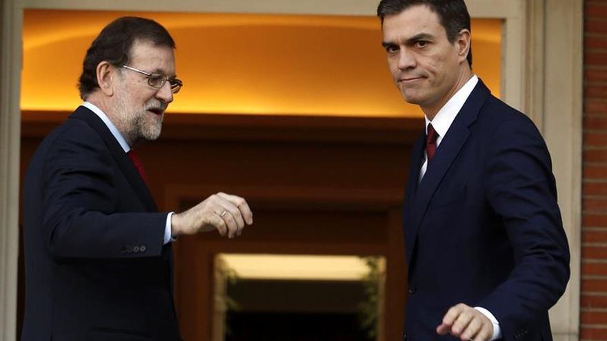 Rajoy y Sánchez se reunirán el miércoles en el Congreso
