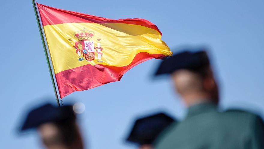 Acto institucional en Valladolid en honor de la patrona de la Guardia Civil, la Virgen del Pilar.
