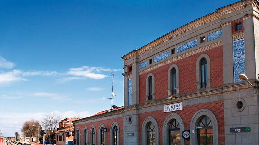 Estación de tren en Talavera de la Reina. Foto por Toni Jerónimo para www.lovetalavera.com