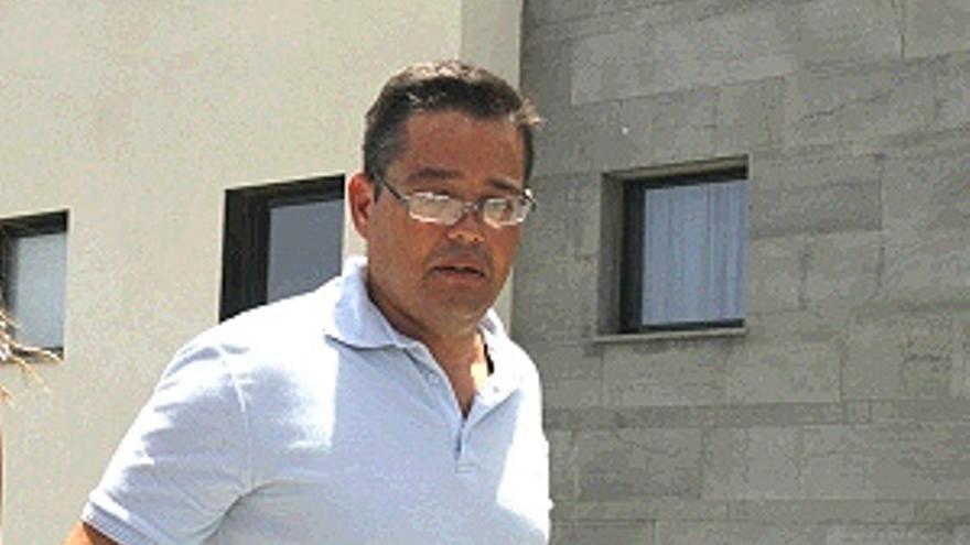 Antonio Machín tras abandonar la cárcel. (ACFI PRESS)
