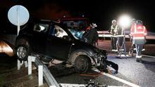 Madre e hija mueren en un accidente de tráfico en Navarra