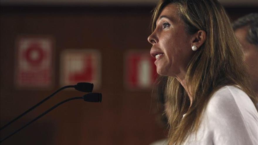 """Sánchez Camacho apela a la unidad en PP y ve en Rajoy al """"mejor candidato"""""""