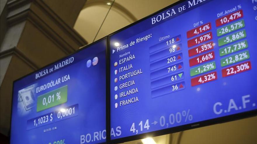 La prima de riesgo española abre sin cambios, en 116 puntos