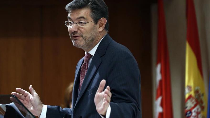 """Catalá sobre la no desobediencia de Más al TC: """"Es una estrategia de defensa"""""""