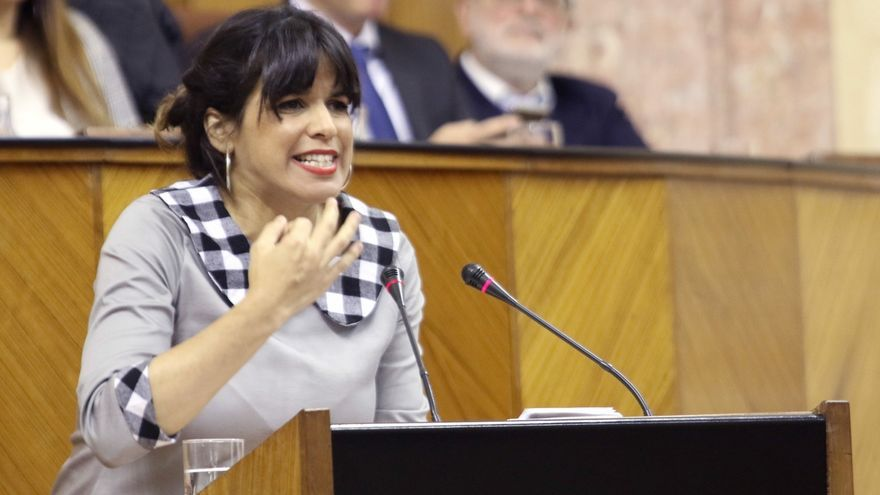 """Teresa Rodríguez no votará en la consulta sobre el pacto de Gobierno, cuya pregunta ve """"un insulto a la inteligencia"""""""