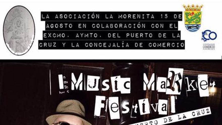 Cartel de la cita musical del 30 de septiembre en la ciudad turística