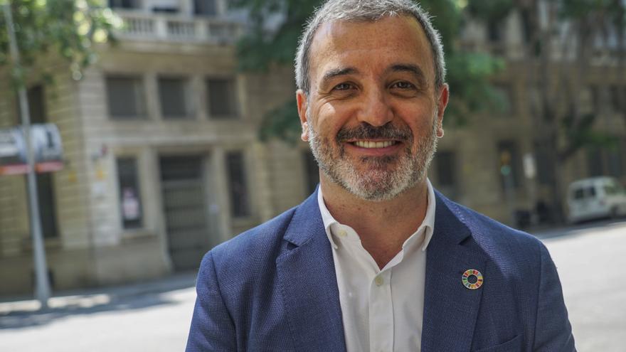 Jaume Collboni, candidato del PSC a la alcaldía de Barcelona