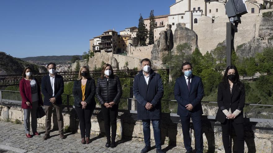 El derrumbe no afecta ni a las Casas Colgadas ni a la catedral de Cuenca