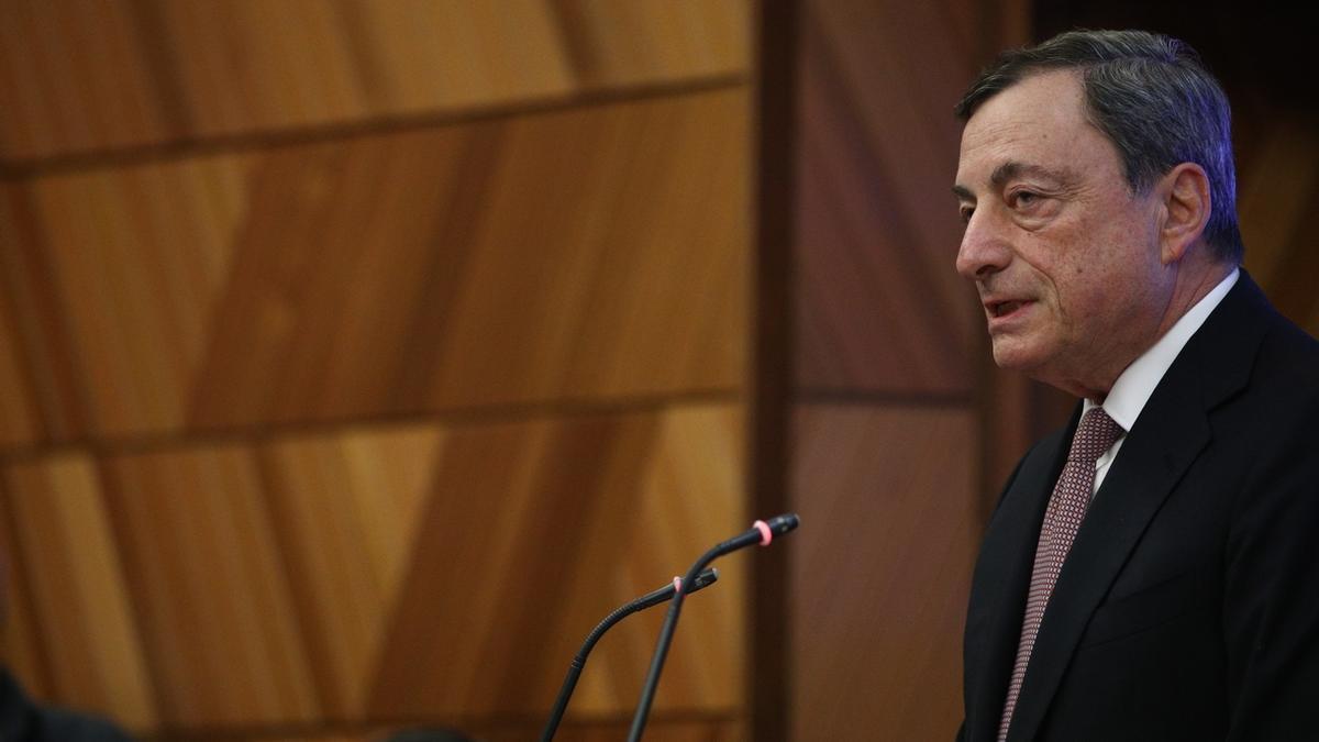 Mario Draghi, expresidente del Banco Central Europeo