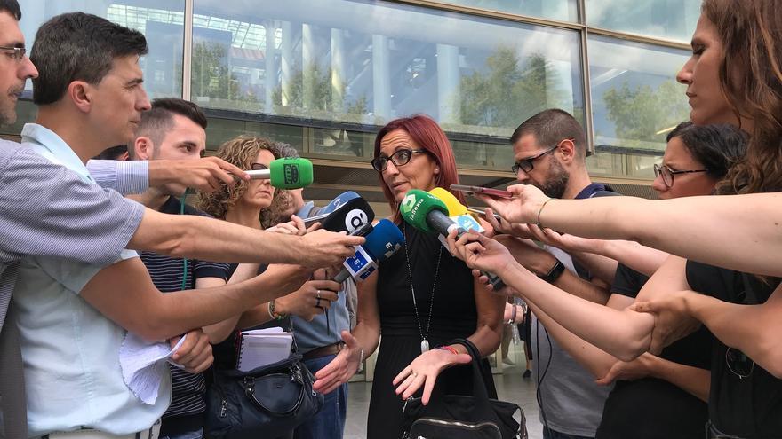 La presidenta en funciones de la Diputación de Valencia y portavoz de Compromís en Divalterra, Maria Josep Amigó.