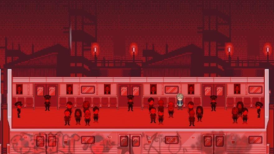 Imagen de Little Red Lie, videojuego creado por Will O'Neill