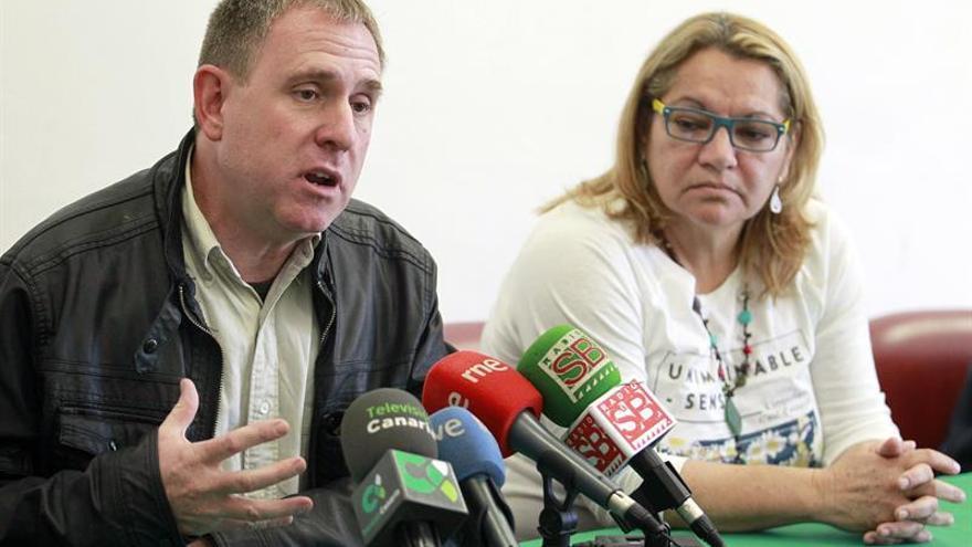 Fernando Sabaté y Meri Pita, en rueda de prensa./ Cristóbal García (EFE)