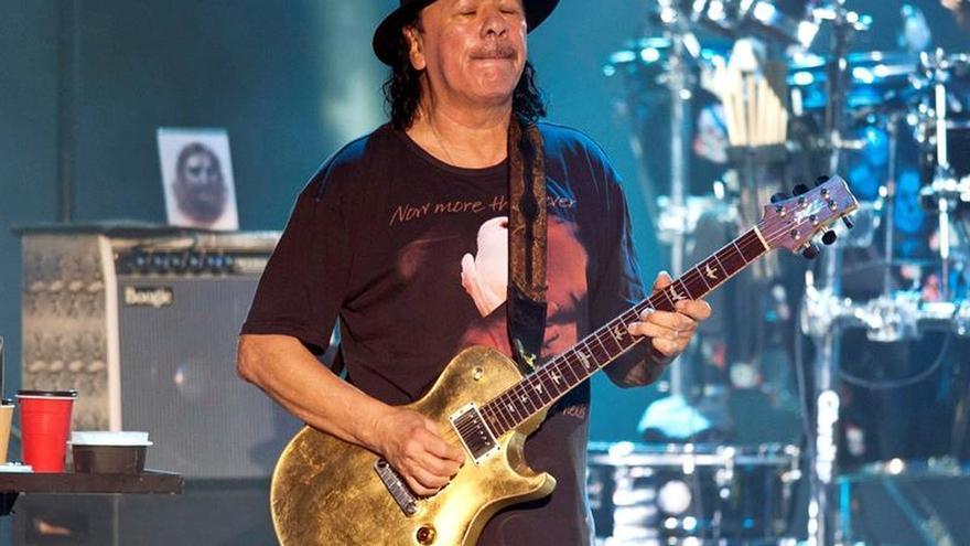 La leyenda Santana pasa por Peralada para repasar lo mejor de su carrera