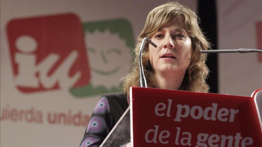 Marina Albiol, nueva portavoz de la Izquierda Plural en el Parlamento Europeo