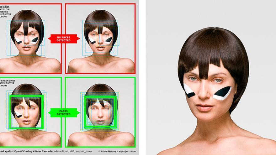 El maquillaje 'CV Dazzle' evita que las máquinas nos identifiquen