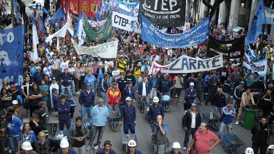 Marcha de movimientos sociales
