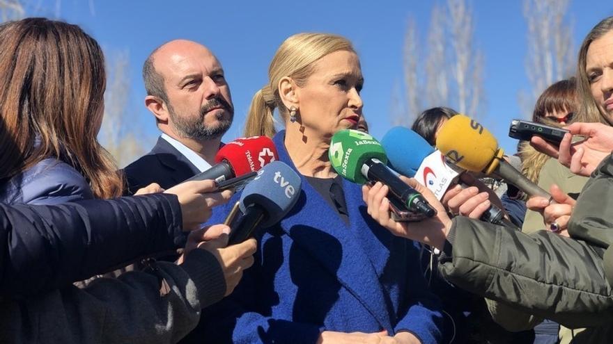 Cristina Cifuentes, presidenta de la Comunidad de Madrid. / Europa Press