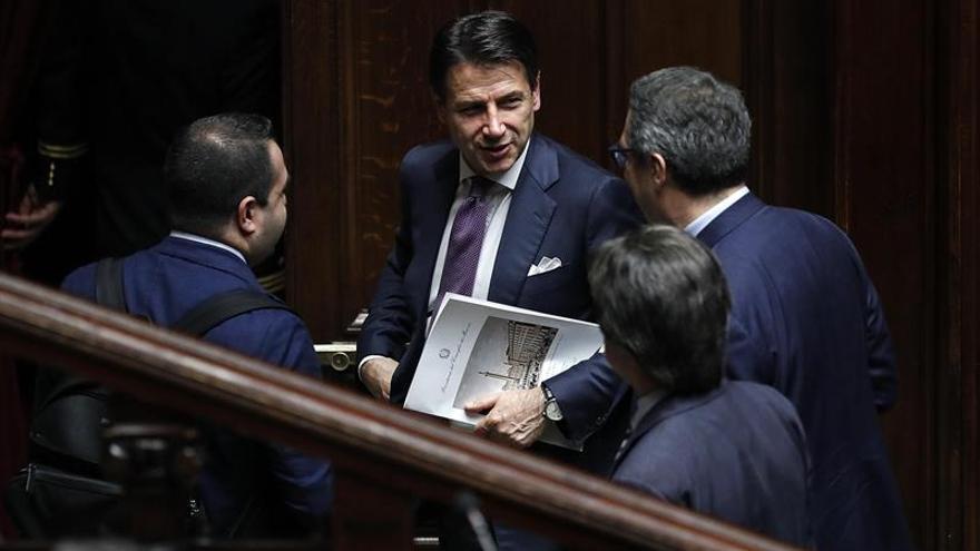 """Italia lleva """"maxienmienda"""" al Senado para votar la confianza de Presupuestos"""