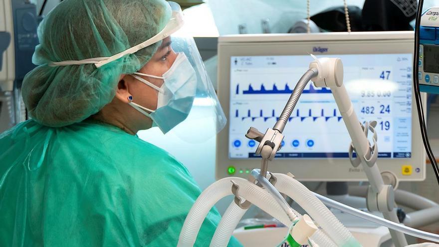 La ocupación de las UCI de pacientes con coronavirus baja hasta el 20% en Castilla-La Mancha