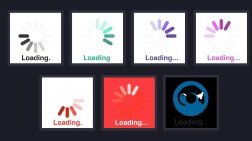 Este 10 de septiembre muchos sitios web aparecerán con un icono simbólico, que representa una rueda cargando