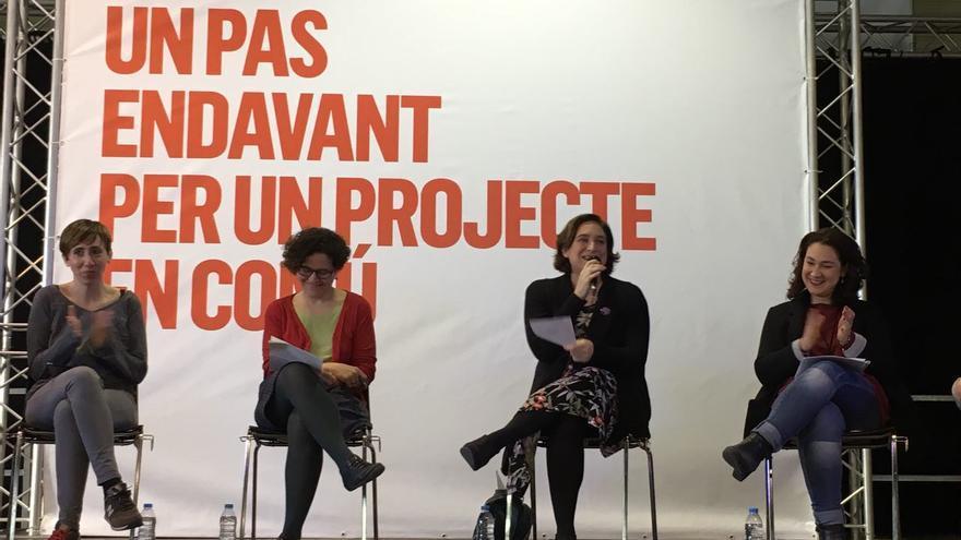 El espacio de En Comú construye un partido de ámbito catalán.