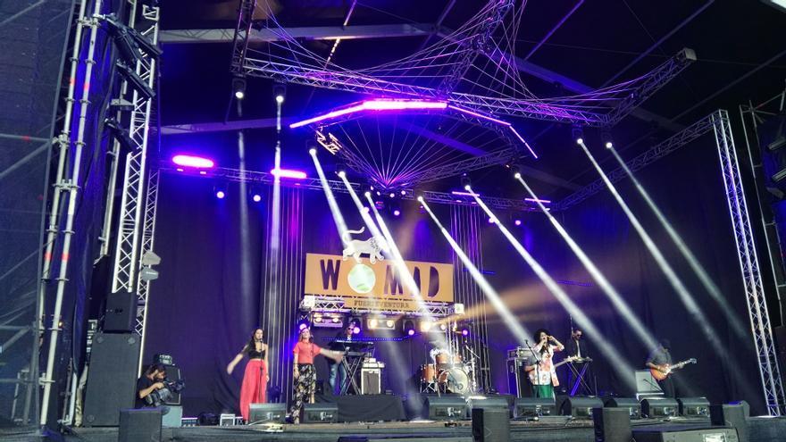 Noche de conciertos en el WOMAD Fuerteventura 2016