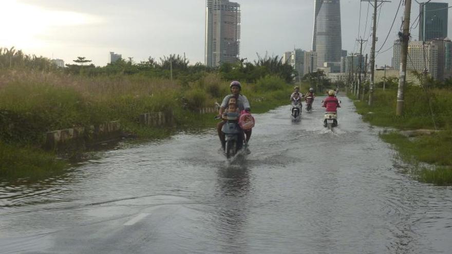 La antigua Saigón se hunde poco a poco por el desarrollo descontrolado