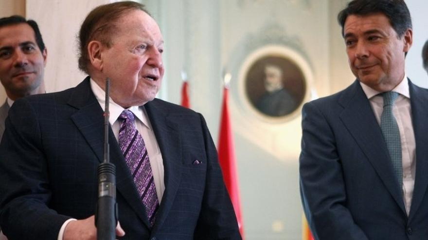 """González no ha tenido """"contacto institucional"""" con Adelson pero sigue trabajando para sacar el proyecto"""