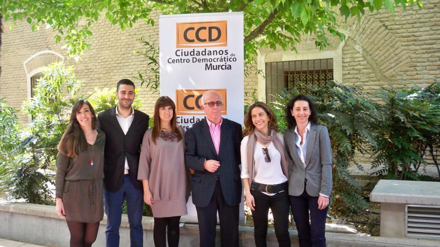 Miembros de CCD en Murcia