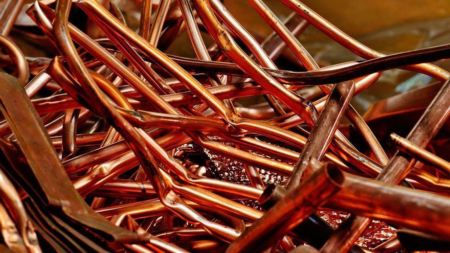 El cobre es la principal materia prima en facturación en Córdoba | PIXABAY