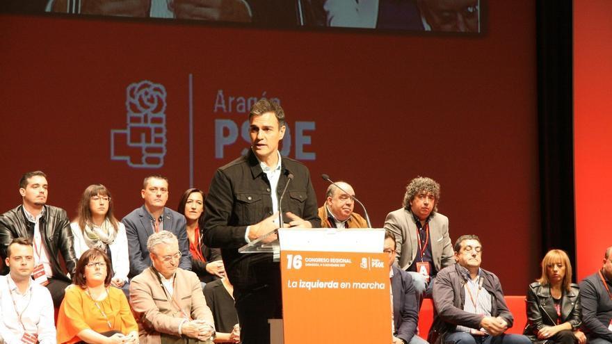 """Pedro Sánchez: """"La única vía para solucionar el desgarro social es la vía de la política, no la penal"""""""