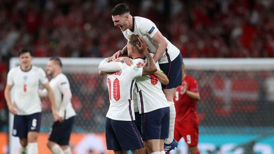 Inglaterra, en la final de la Eurocopa