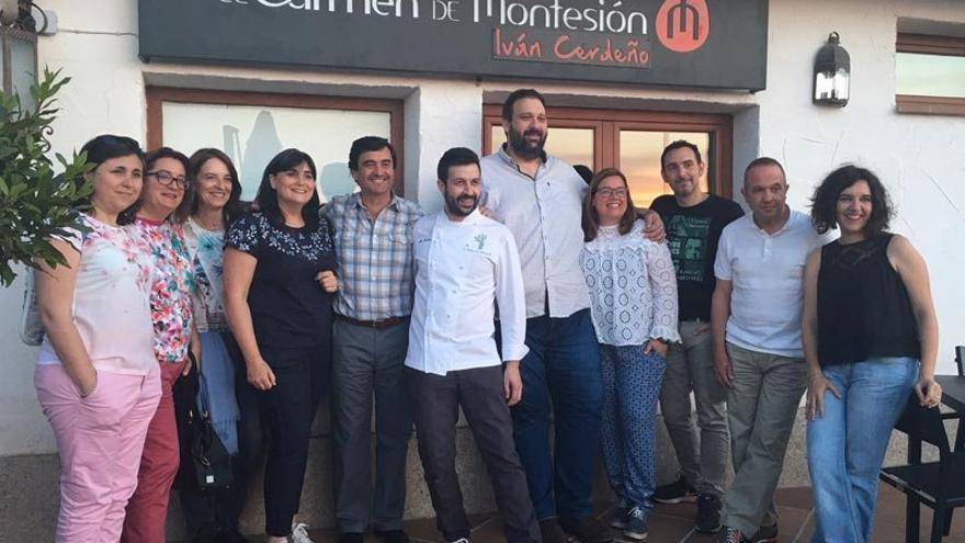 El Carmen de Montesión ha sido el escenario de las jornadas 'Fermentados y asilvestrados' / Pilar Virtudes