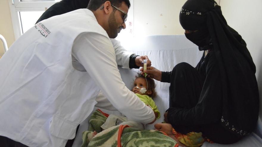 La falta de combustible impide que la población pueda acceder a la atención médica./ Foto: Malak Shaher (MSF)