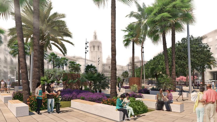 La Nueva Plaza De La Reina De València Identificará La