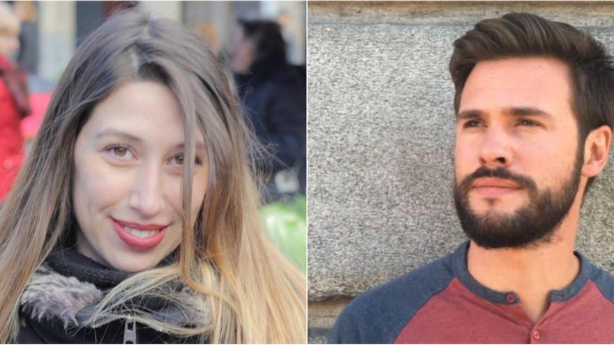 Marta Puerto y Álvaro Martín han retomado los estudios
